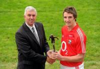 Aidan Walsh Receives Bord Gais Energy U21 Player of Year