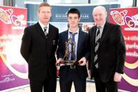 96FM C103 Sports Award November - Paul Haughney with Niall O Neill & Pat Horgan