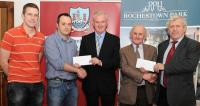 League Cheques Presentation - Ballydesmond & Glanmire