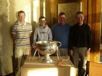 Golf Classic Clona Milk team with Jim Nolan