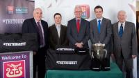 AIB Cork hosts Sarsfields county S.H. champions 2014