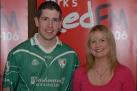 Killeagh's Andy Walsh and Tracey Kennedy at Red FM SHL Launch