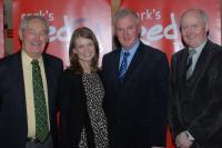 Roger Ryan, Fiona Darcy (Red FM CEO), Gerard Lane & Pat Horgan