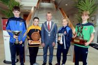 Rebel Og Award June -17 Feile na Gael Capts
