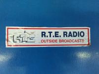 RTE Radio Outside Broadcast Press Box