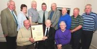 Scór Founder Derry Gowen Honoured by Munster Council