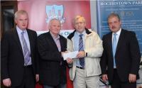 League Cheque Presentations - O'D. Rossa, Div 2 Football Winners