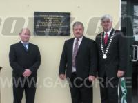 Unveiling  Aghabullogue 125 Plaque