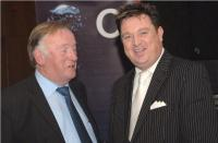 Jim Forbes and Shay Livingstone at Cork Medal Presentation Dinner
