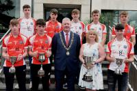 Rebel Og Awards July 18 - Cork U15 & U16 Footballers