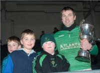 Nemo Rangers Captain Brian Morgan with fans