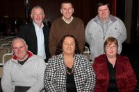 Officers of East Region at Coiste na nOg Review
