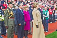 Presidents McAleese and Cooney