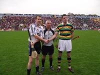 SHC Final Captains and Ref