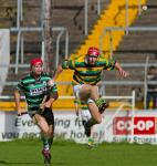 Acrobatics at SHC Douglas v Glen Rovers!