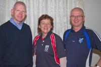 Liam Minihane, Cathal Lavin (Bantry) & Noreen O Callaghan (Watergrasshill) at PRO Seminar