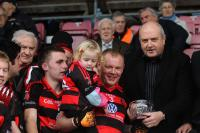 Newmarket's Denys O Brien Accepts Man of Match Award