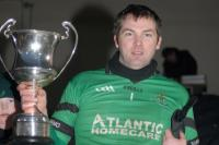 Nemo Rangers Captain Brian Morgan with Munster Cup