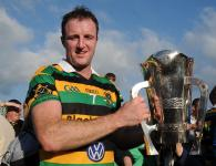 "Glen Rovers Captain Graham Callanan Receives SHC Sean Ã""g Murphy Cup County Championship 2015"