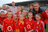 Daniel Goulding with Fans at Training