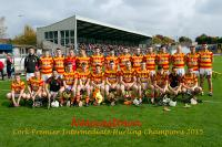 Newcestown v Valley Rovers PIHC County Final Páirc Uí Rinn 11.10.2015