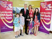 David Brosnan St Nicholas Winner 96FM/C103FM July Sports Star of the Month Award