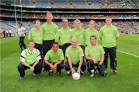 Cork Peil Abu team in Croke Park