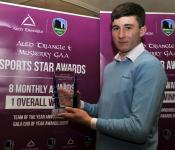 Muskerry GAA Sports Award for March -17. Chris Og Jones Uibh Laoire