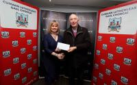 County Leagues Cheques Presentations 2017