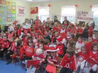 Sam Maguire visits Analeentha NS
