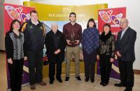 Mark Ellis Recipient of the 96FM C103 December Sports Award with Millstreet Club Members