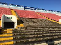North Stand Seat Removal