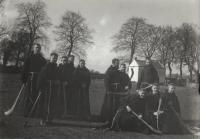 Fr. Edwin Fitzgibbon, OFM Cap (3rd Left) with Hurlers at St. Francis College Rochestown c.1910