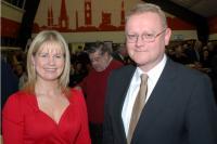 Imokilly Secretary Tracey Kennedy & County Development Officer Diarmuid Gowen