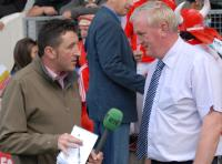 RTE's Paschal Sheehy with County PRO