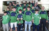 Rebel Og Awards Sept 18 - Mayfield  U15 Footballers & St Vincent  U15 Hurlers