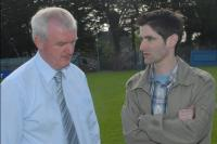 Gerard Lane & Eamonn Murphy at Cork Footballers' Press Evening