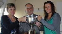 Co Sec with the Sean O Crualaoi Cup