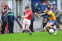 Fiachra Lynch in Action in McGrath Cup
