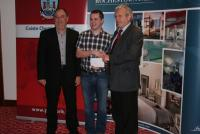 League Cheques Presentation - Clyda Rovers