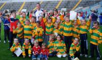 Ballyclough Fans with Colm O Neill at Training