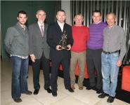 Diarmuid O'Sullivan receives 96Fm C103 Sports Award - October