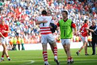 Celebration time Cork v Dublin