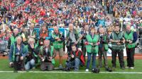 Photographers at All-Ireland Final!