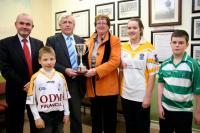Presentation of Con Murphy Cup