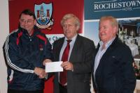 League Cheques Presentation - Dripsey