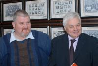 Bernard Corcoran and Frank O'Flynn at Convention 2010