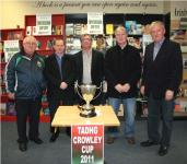 Tadhg Crowley Cup Draw 2011