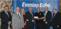 Cheque Presentations at Draws