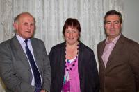 Denis Kelleher (Glanmire), Vera Terry & Ml Mulry (Aghada) at PRO Seminar